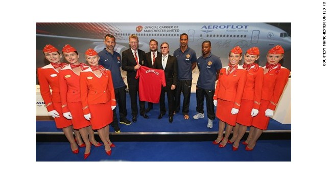 """Davai Untied!"" Aeroflot and United announced the deal in July."