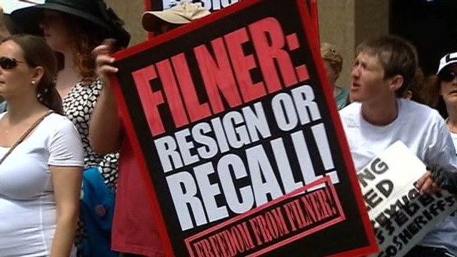 New petition wants Filner out of office