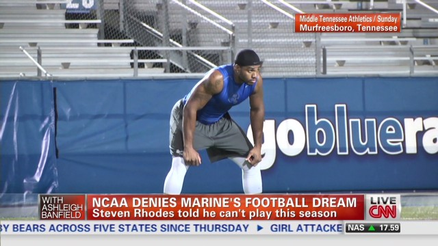 exp NCAA denies Marine's football dream_00002001.jpg