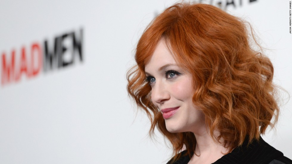 "Reason redheads are proud of Christina Hendricks: ""Mad Men"" wouldn't be the same without her."