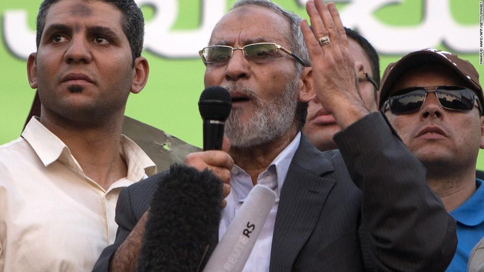 Muslim Brotherhood leader, 36 others sentenced to life in Cairo
