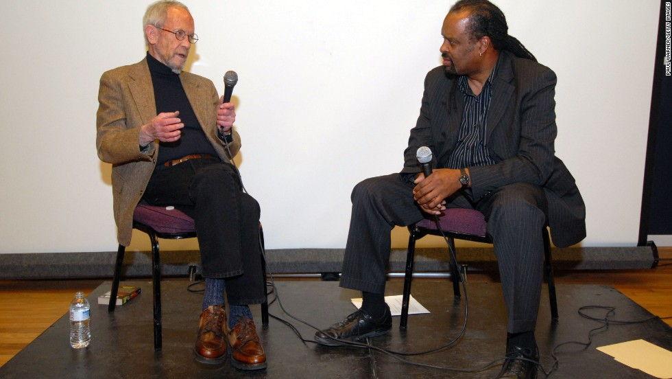 "Leonard attends a ""Jackie Brown"" screening at the N'Namdi Center for Contemporary Art in Detroit in 2012."