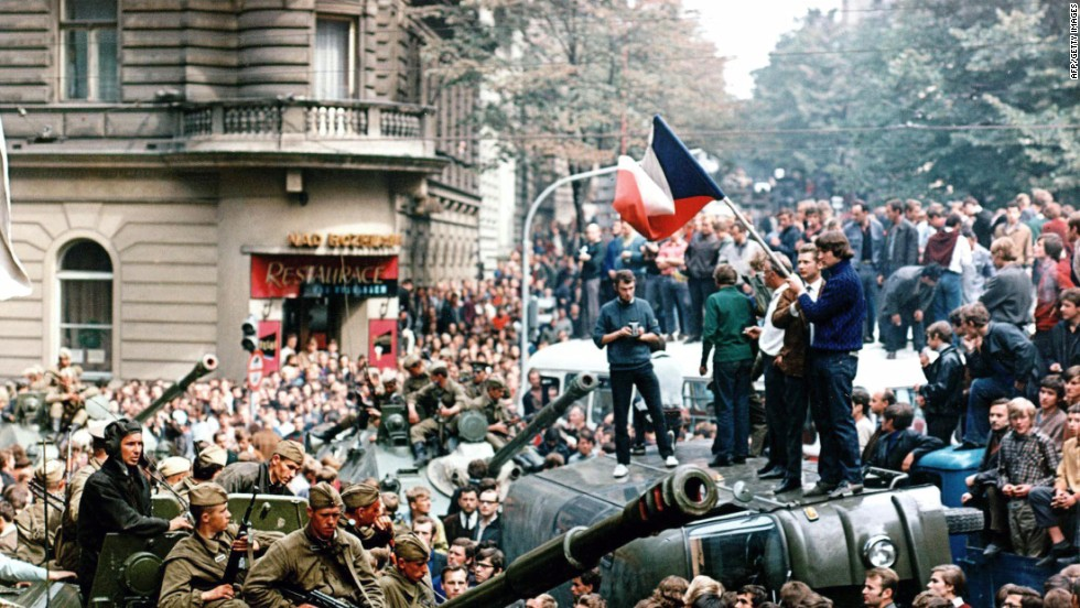 On August 21, 1968, the Soviet-led invasion by the Warsaw Pact armies crushed the so-called Prague Spring reform and reestablished totalitarian regime in former Czechoslovakia.