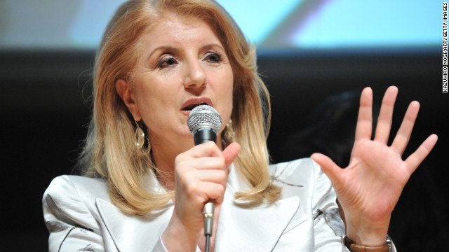 Greek-born American Arianna Huffington is the editor-in-chief of the Huffington Post Media Group.