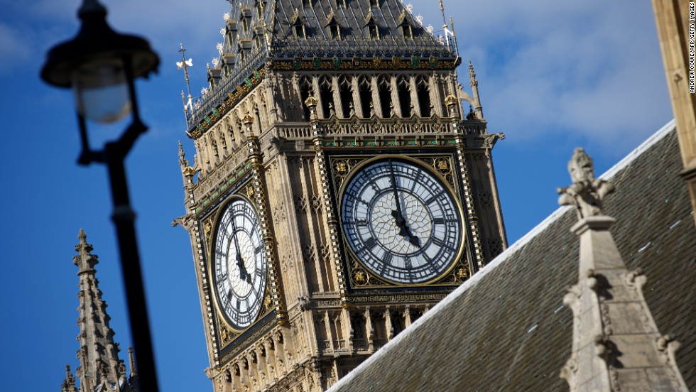 London's ornate and historic clock tower was tagged in  8,780 selfies, says Attractiontix.co.uk.