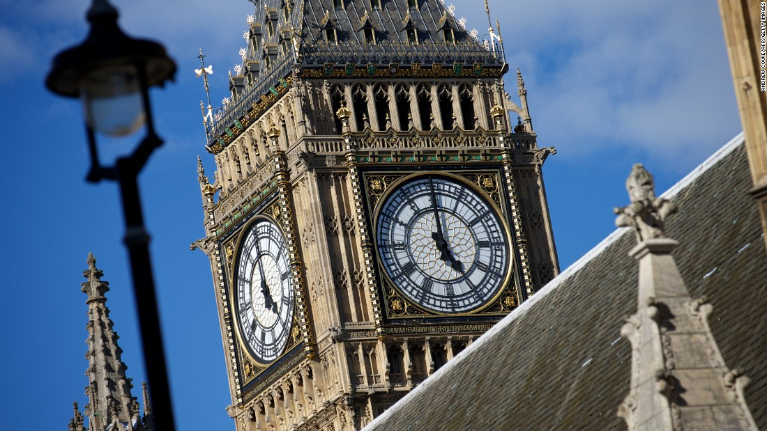 "True, the name ""Big Ben"" refers to the 13-ton bell inside, but honestly, what image says ""London"" quite like the famous clock and tower?"