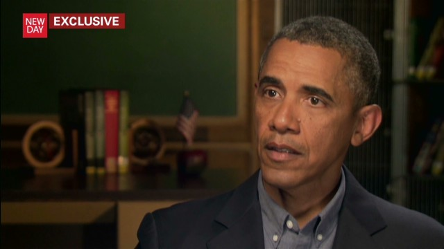 Obama: Syria is 'of grave concern'
