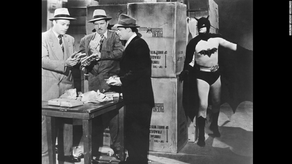 "Robert Lowery became the second person to portray the character in the 1949 movie serial ""Batman and Robin."" Although he never played the character in another movie, he did guest star on an episode of ""The Adventures of Superman."" This was the first time a Batman actor and a Superman actor shared the screen."