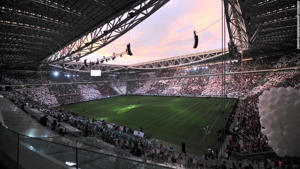 Serie A champion Juventus is the only team in Italy's top division to own its ground. The Juventus Stadium was opened in 2011 and holds 41,000 spectators.