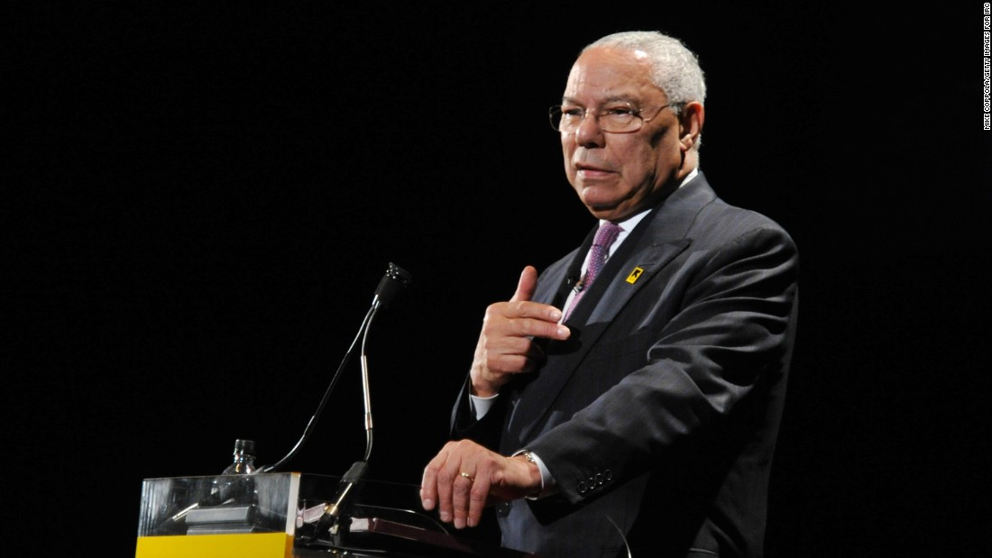 Powell: Trump is 'an international pariah'