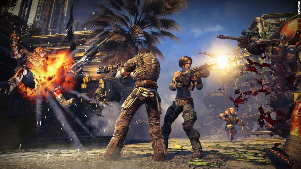 "How out of control does the violent video game debate sometimes get? One cable news channel speculated that ""Bulletstorm"" could be the worst game ever and increase rapes -- before anyone had actually seen it."