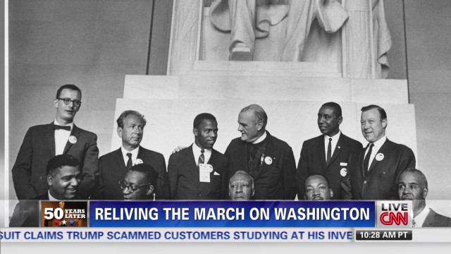 John Lewis remembers MLK speech