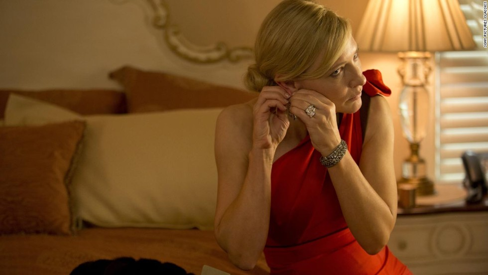 "<strong>Outstanding performance by a female actor in a leading role: </strong>Cate Blanchett, ""Blue Jasmine"""