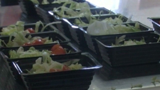 Students say no to healthy school lunch
