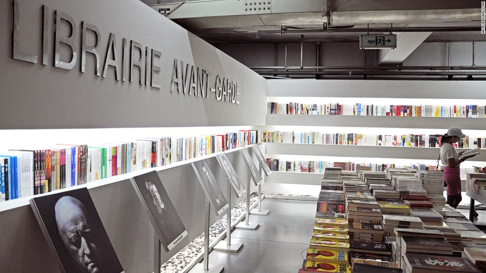 library store librairie avant garde chinas most beautiful bookshop cnn travel