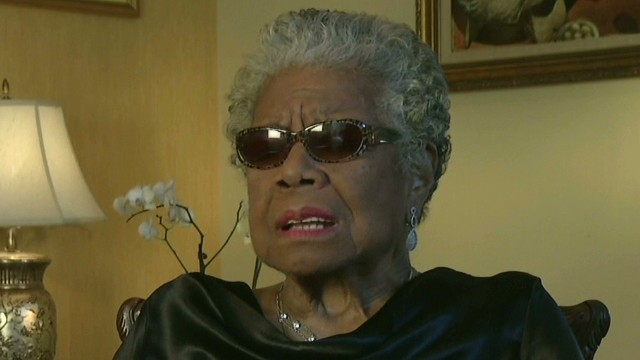 2013: Angelou discusses MLK's dream