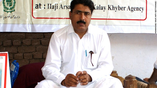 This photograph taken on July 22, 2010, shows Pakistani surgeon Shakeel Afridi, who was working for CIA to help find Osama bin Laden, attending a Malaria control campaign in Khyber tribal district. Pakistan's problematic relationship with the United States sailed into fresh controversy as US lawmakers warned of aid cuts after the jailing of a surgeon who helped the CIA hunt down Osama bin Laden. Shakeeel Afridi was found guilty of treason, sentenced to 33 years in prison and fined 320,000 rupees (3,500 USD) under an archaic tribal justice system that has governed Pakistan's semi-autonomous tribal belt since British rule. AFP PHOTO / MOHAMMAD RAUF (Photo credit should read MOHAMMAD RAUF/AFP/GettyImages)