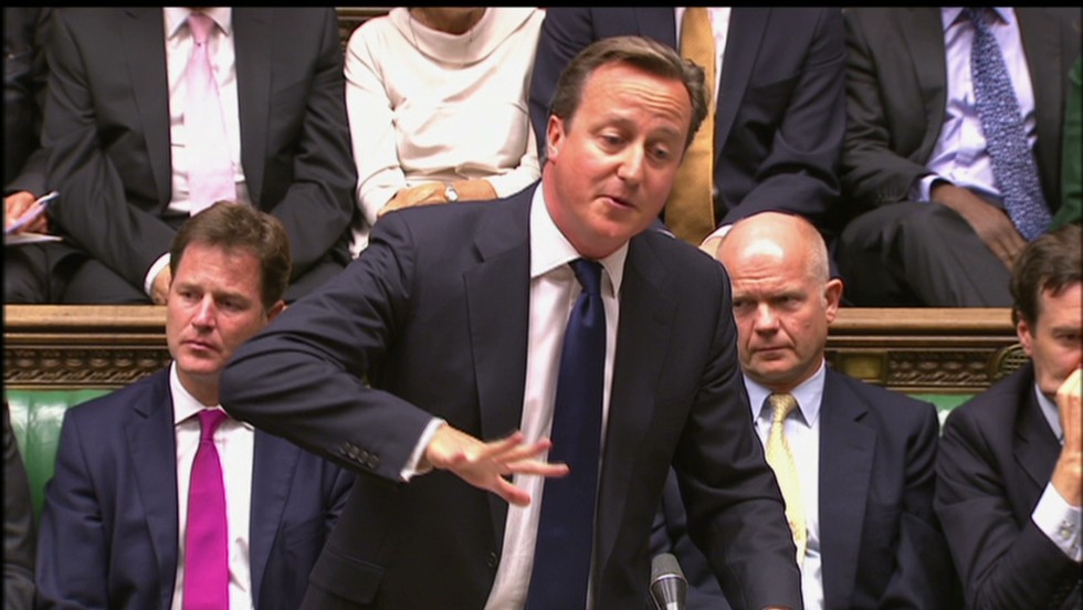 Syria intervention debate: What UK lawmakers said
