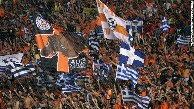 APOEL Nicosia fans will be watching Europa League football at the club's GSP Stadium.