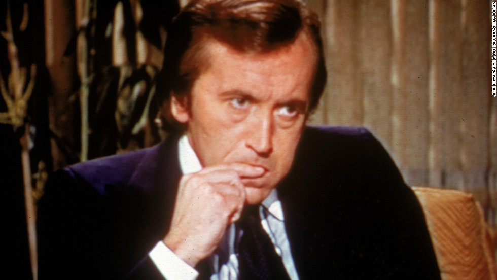 "British broadcaster <a href=""http://www.cnn.com/2013/09/01/showbiz/david-frost-death/index.html"" target=""_blank"">David Frost</a>, best known for his series of interviews with former U.S. President Richard Nixon in 1977, died August 31. He was 74."
