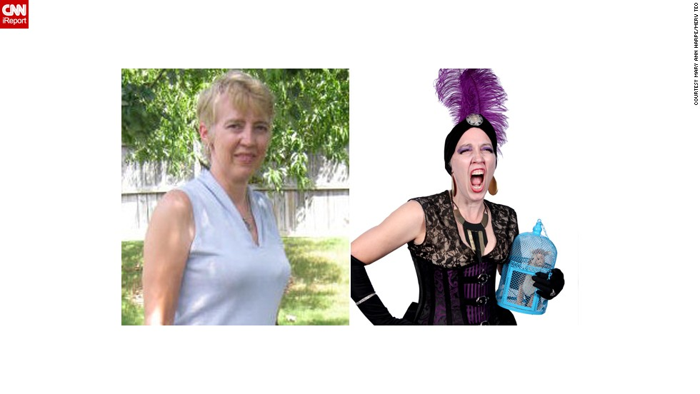 "<a href=""http://ireport.cnn.com/docs/DOC-1019401"">Mary Ann Harpe </a>of Evans, Georgia, chose ""The Emperor's New Groove"" as part of a steampunk Disney villains' group. ""I had been an exchange student ... (in) Lima, Peru, in the '70s and I knew I could use some of the items I got in Peru with the costume. I kept Yzma's main colors of purple and black."""