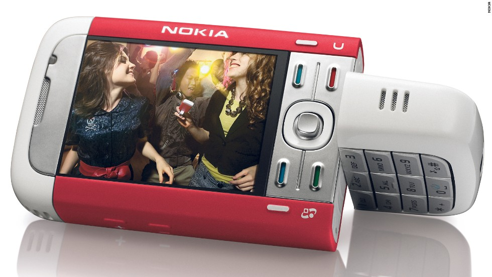 Nokia 5700 Sport Music Edition, released in 2007.