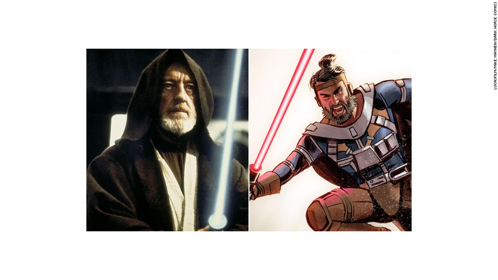 Like Obi-Wan Kenobi, Kane is a seasoned Jedi in this story, but Kane appears to be younger than Obi-Wan. The Jedi are being hunted by the Sith, but there are some still around at this point, including General Skywalker and Kane's two sons.