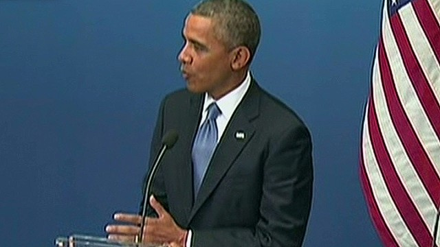 Obama: 'The world set a red line'