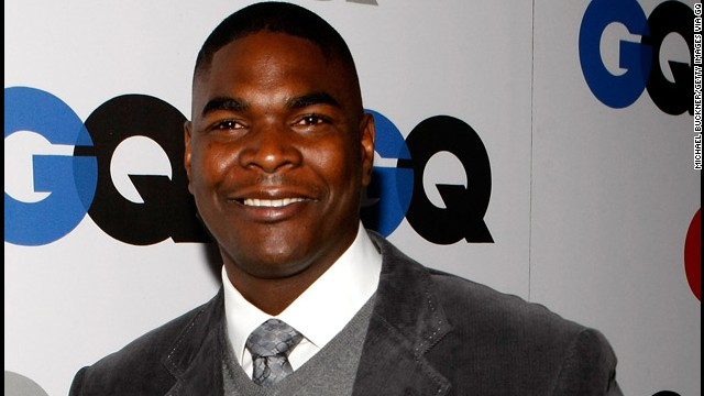 "Retired NFL player Keyshawn Johnson appeared on ""Dancing With the Stars"" last year."