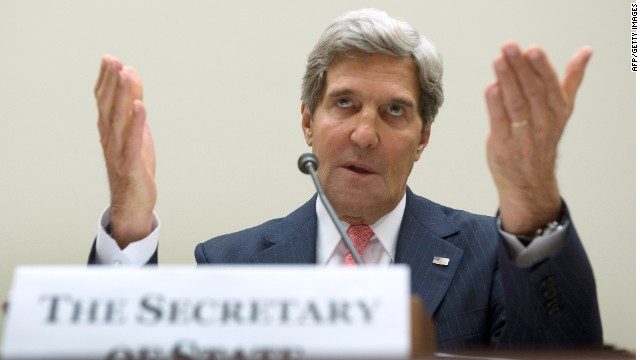 Kerry: Assad behind 'outrageous attack'