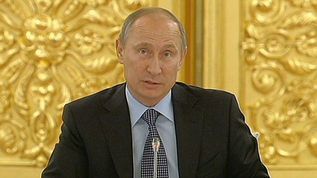 Putin says he could back strike on Syria