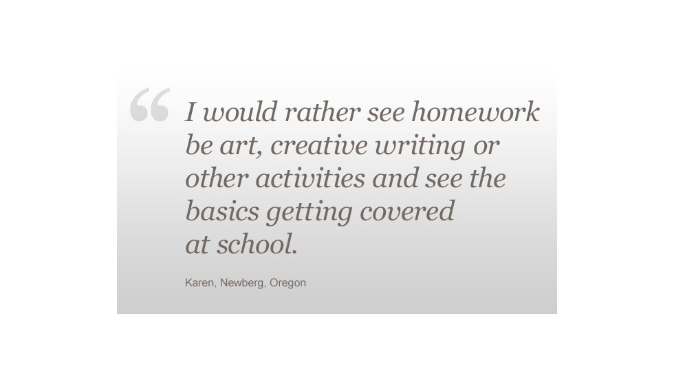 homework debate too much too little or busy work cnn homework karen newberg or quote
