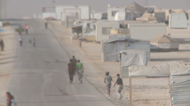 Crisis in Syria: Angst in refugee camp
