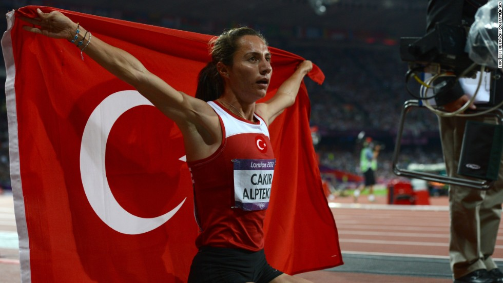 Asli Cakir won the women's 1,500 meters gold in London, and Turkey will want to nurture more home talent if Istanbul wins the 2020 bid.