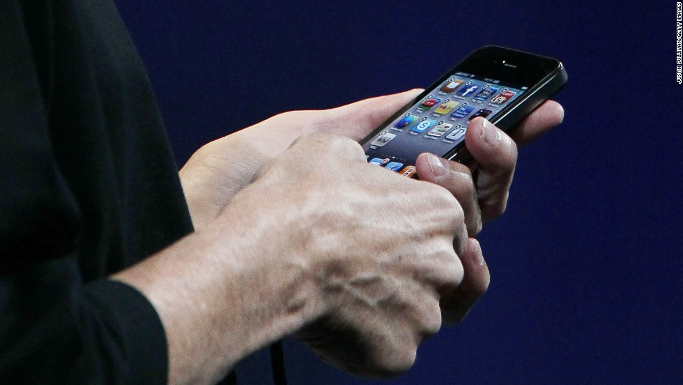 "Jobs was back to unveil the <strong>iPhone 4</strong> on June 7, 2010, at Apple's developers conference. The phone boasted a high-res ""retina display"" and a new, more angular design, but it suffered from an antenna flaw that caused weak signals and dropped calls for many consumers. In a rare move, Apple later offered free ""bumpers"" to address the antenna issue."