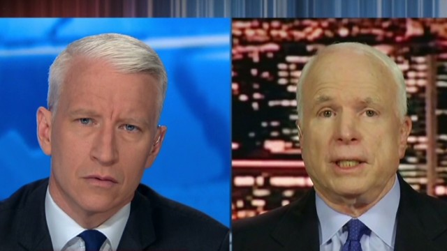 Sen. McCain: Congress has to be convinced
