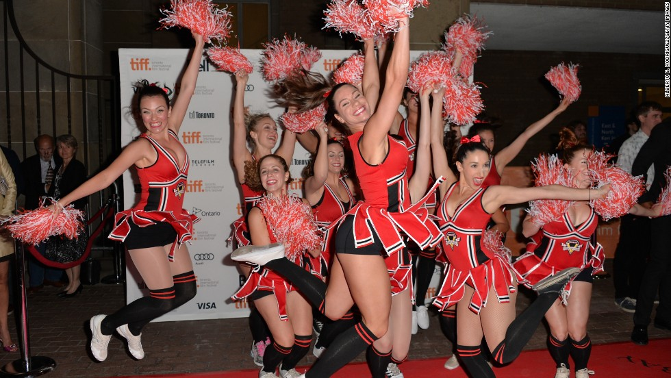 "The ""All Cheerleaders Die"" premiere at the Ryerson Theatre featured its own cheer team."