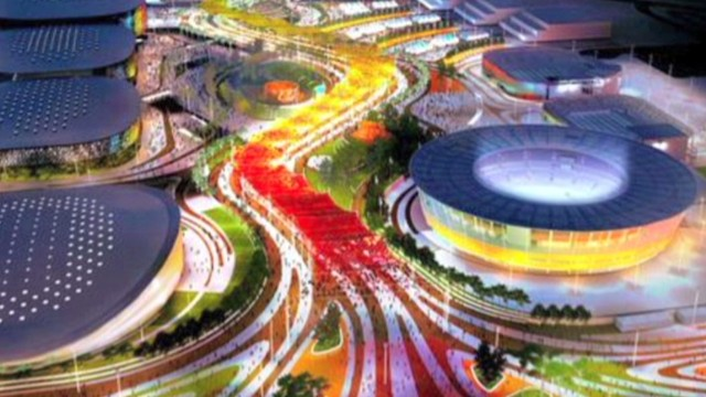 Brazil unveils Olympic park vision