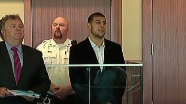 Aaron Hernandez pleads not guilty