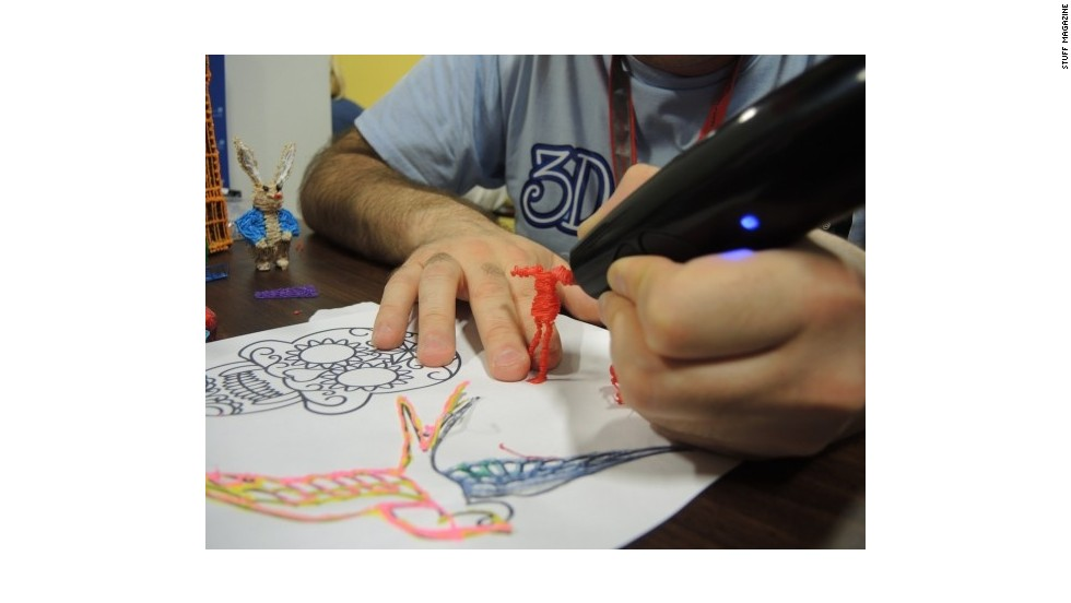 The 3Doodler is the world's first 3D printing pen that allows users to create 3D models in minutes.