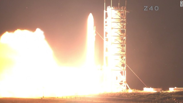 NASA launches unmanned moon orbiter