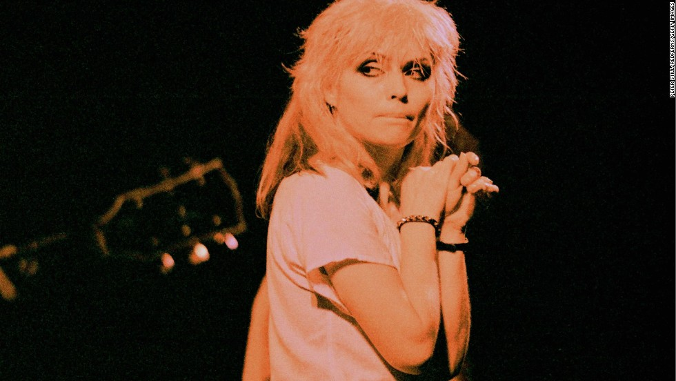 "Blondie was one of the many New York bands that came out of the downtown scene revolving around CBGB. The group, led by singer Debbie Harry and guitarist Chris Stein, was distinctive in its love of girl-group pop, though such songs as ""X Offender"" certainly had different subject matter. The group eventually had four No. 1 hits."