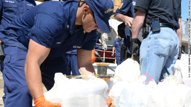 Coast Guard makes $20 million cocaine bust