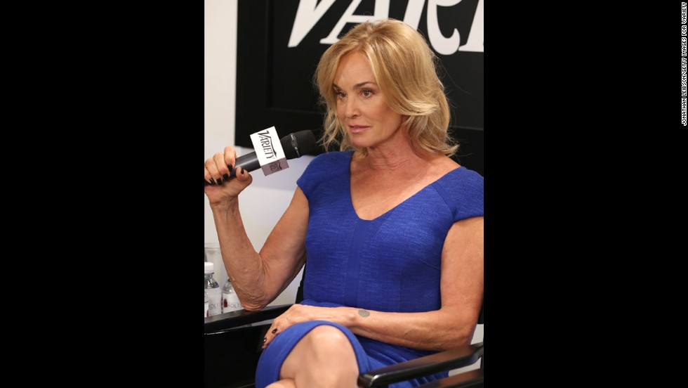 Actress Jessica Lange appears at the Variety Studio at Holt Renfrew during the festival on September 7.