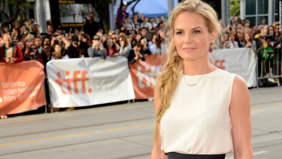 "Actress Jennifer Morrison arrives at the premiere of ""Gravity""  on September 8."