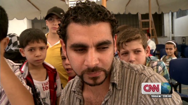 Syrian refugees seek sanctuary in Egypt