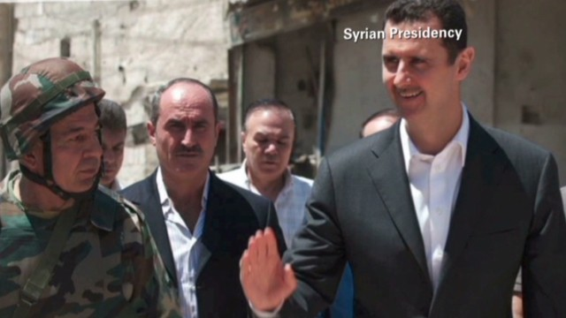 Al-Assad denies responsibility for attack