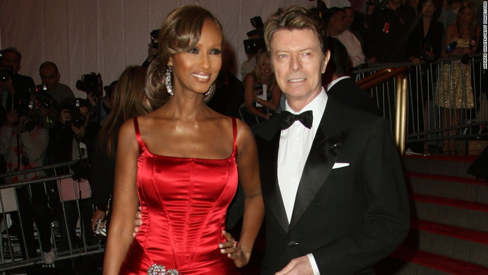 You know you've made it when you're referred to by one name. Somalian-born Iman (pictured here with British musician husband David Bowie) began her modeling career in the 1970s, in an era when black models in the U.S. were rare. In the 1990s she launched her own successful cosmetics range for women of color.