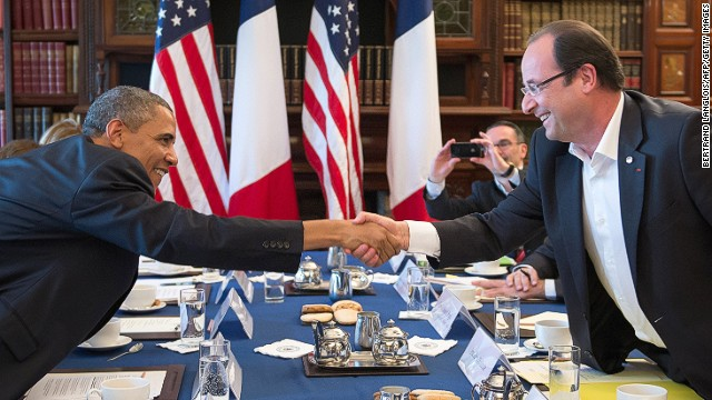 Hollande: France will stand with U.S.