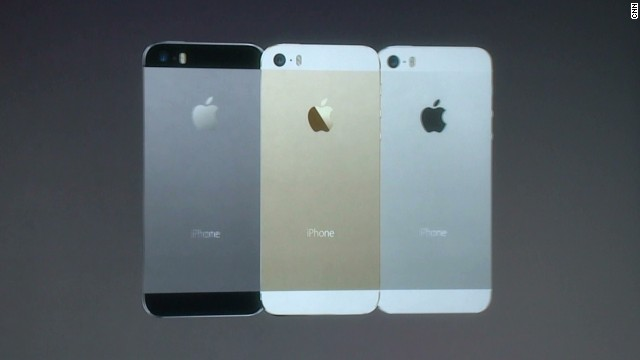 iPhone 5S to come in gold, gray, silver